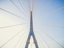 8座桥梁兆rama吊索 免版税库存照片