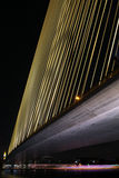 8座桥梁晚上rama 库存图片