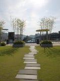 庭院京都天空 库存图片