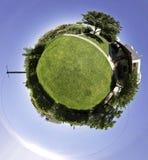 庭院光球 图库摄影