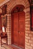 庭院入口在班格洛宫殿  库存图片