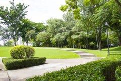 庭院公园 免版税库存照片