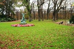 庭院卢森堡巴黎 免版税图库摄影