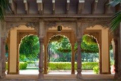 庭院印地安人 免版税库存照片