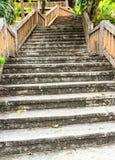 庭院台阶 库存图片