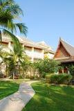 庭院和室外设计在泰国 免版税库存图片