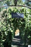 庭院咖啡馆-达拉斯,得克萨斯 免版税库存照片