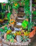 庭院喷泉 库存图片