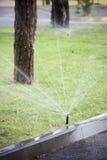 庭院喷水隆头 免版税图库摄影