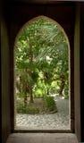 庭院圣乔瓦尼巴勒莫 库存图片