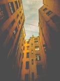 庭院圣彼德堡 免版税库存照片