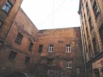 庭院圣彼德堡 库存图片