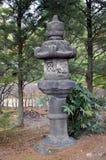庭院在京都 免版税库存照片