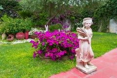 庭院在城市 库存图片