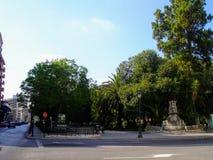 庭院在巴伦西亚,西班牙 库存照片