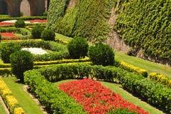 庭院在巴塞罗那 图库摄影