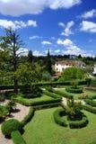 庭院在托斯卡纳,意大利 图库摄影