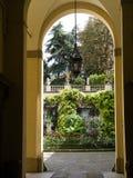 庭院在波隆纳意大利 库存照片