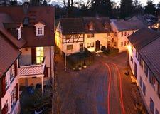 庭院在巴特洪堡 德国 免版税库存照片