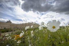 庭院在巴黎附近的凡尔赛宫 免版税库存图片
