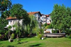 庭院在Chernomorets 免版税库存图片