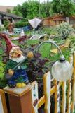 庭院地精 库存照片