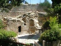 庭院坟茔耶路撒冷 库存照片