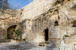庭院坟茔,耶路撒冷 免版税库存图片