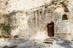 庭院坟茔,耶路撒冷 库存照片
