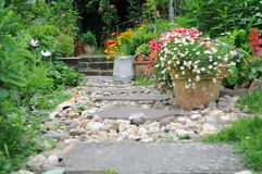 庭院夏天 免版税图库摄影