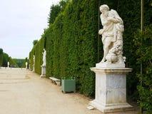 庭院大别墅de凡尔赛 免版税库存图片