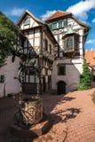 庭院大厦,瓦尔特堡城堡 免版税库存照片