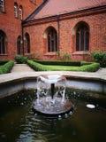 庭院大教堂在Pelplin 库存照片