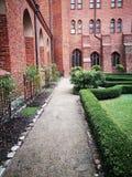庭院大教堂在Pelplin 库存图片