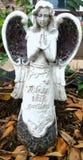 庭院天使 库存照片