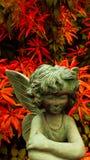 庭院天使 免版税库存图片