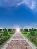 庭院天堂 库存图片