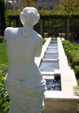庭院妇女 图库摄影