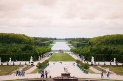 庭院宫殿凡尔赛 免版税库存图片