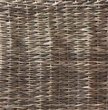 庭院家具的被编织的表面由有机材料制成,手工制造 库存照片