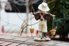 庭院小装饰品 库存照片
