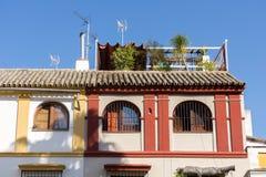 庭院屋顶顶层 免版税图库摄影