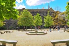 庭院布拉格wallenstein 免版税图库摄影