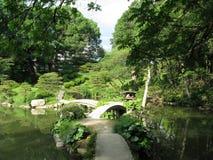 庭院广岛日语 免版税库存图片