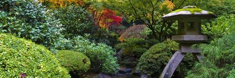 庭院日本人寺庙 免版税图库摄影