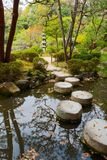 庭院日本人横向 免版税库存照片