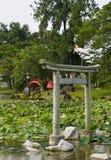 庭院日本人横向 库存图片