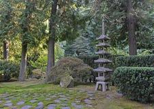 庭院日本人横向 库存照片