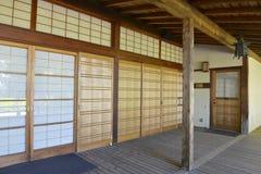 庭院日本人横向 图库摄影