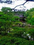 庭院日本人禅宗 库存图片